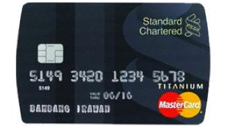 Standard Chartered MasterCard Titanium