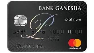 Bank Ganesha Mastercard Platinum