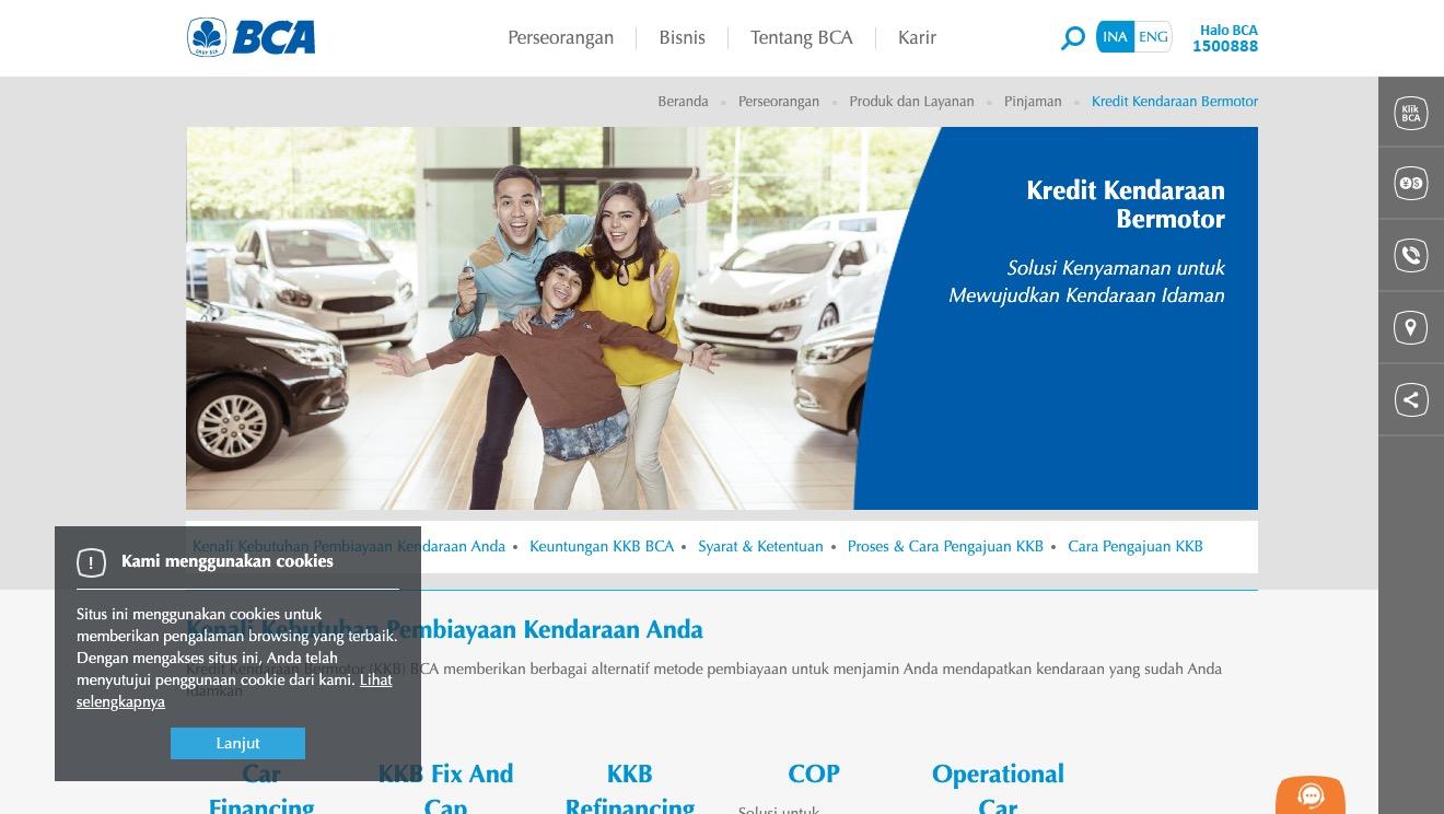BCA Kredit Kendaraan Bermotor