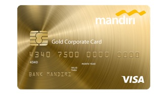 Mandiri Corporate Card Gold