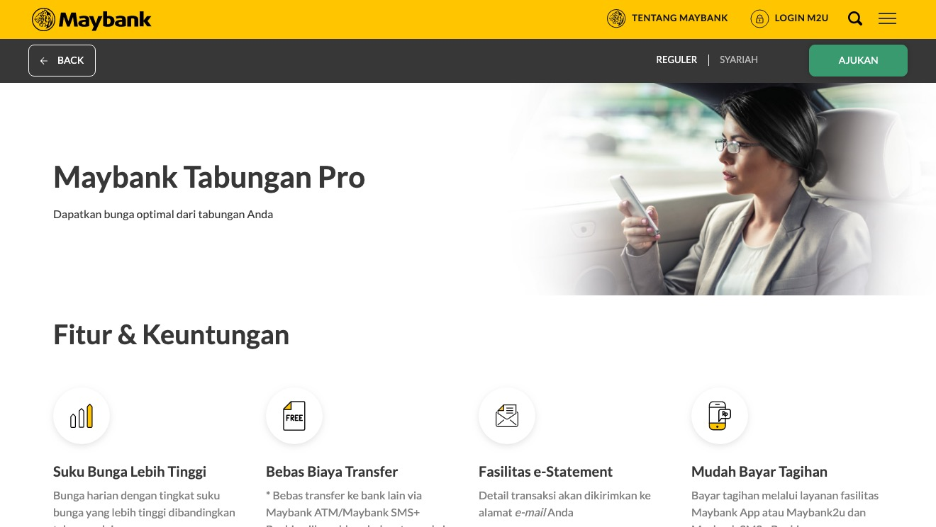 Maybank Pro Savings