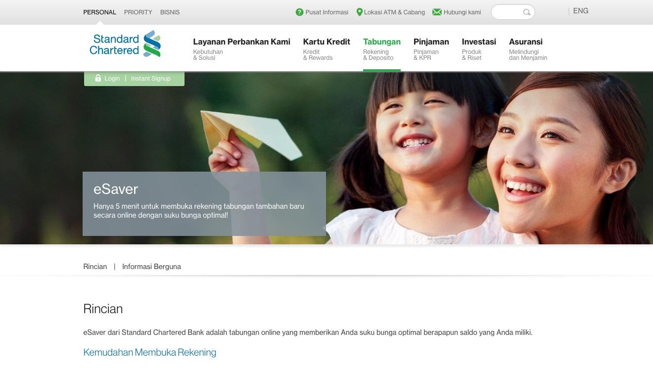 eSaver Standard Chartered