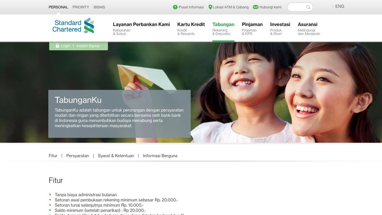 TabunganKu Standard Chartered