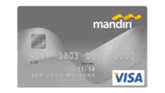Kartu Debit Mandiri Silver Bank Mandiri Moneyduck Indonesia