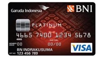 GARUDA BNI VISA Platinum