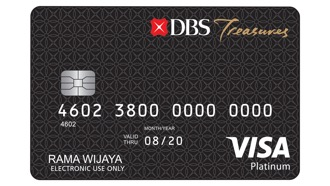 Kartu Debit DBS Treasures Visa Platinum