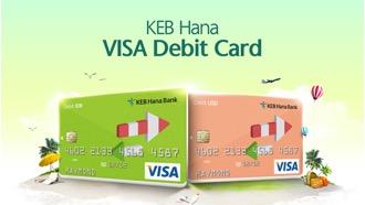 Kartu Debit Bank KEB Hana