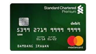 Kartu Debet Premium Standard Chartered
