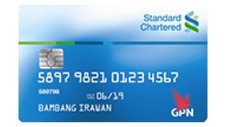 Kartu Debet GPN Standard Chartered Bank