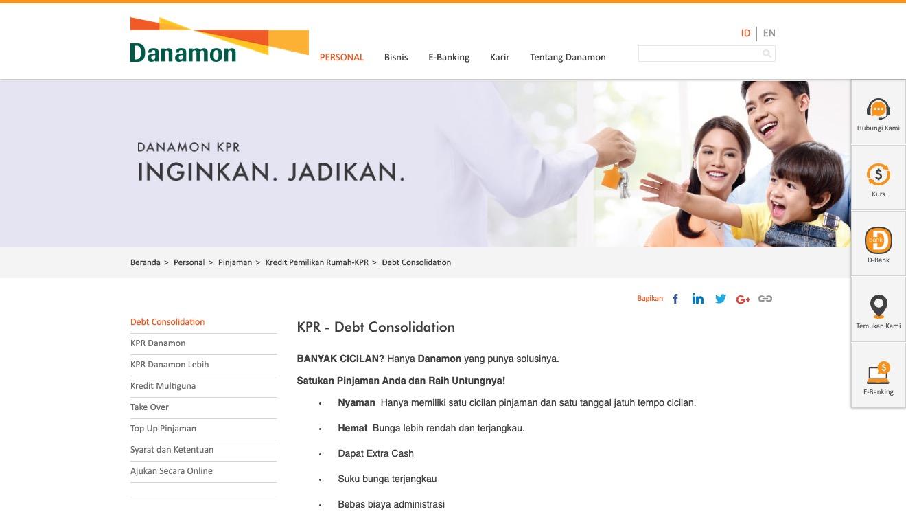 KPR - Debt Consolidation Danamon