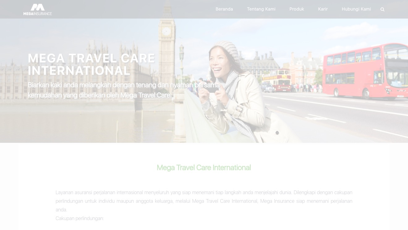 Mega Travel Care International Gold