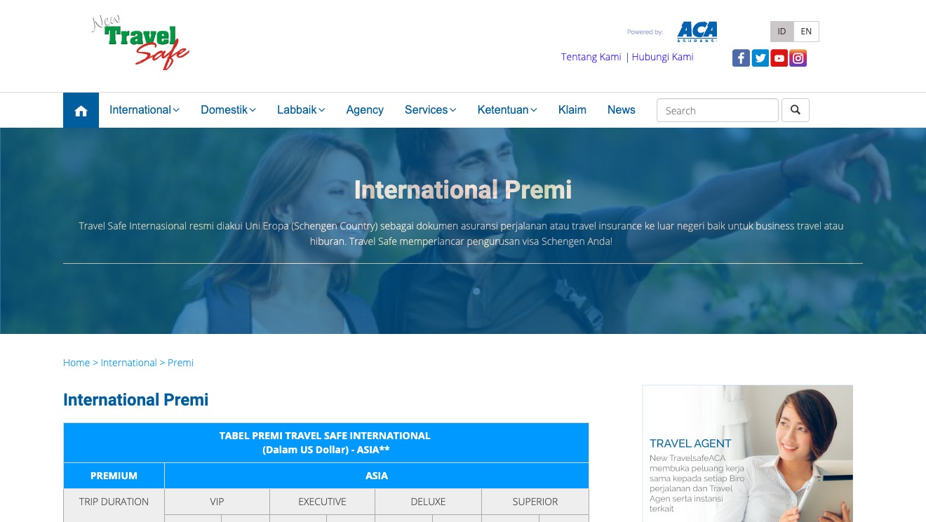 ACA International Premi Excutive
