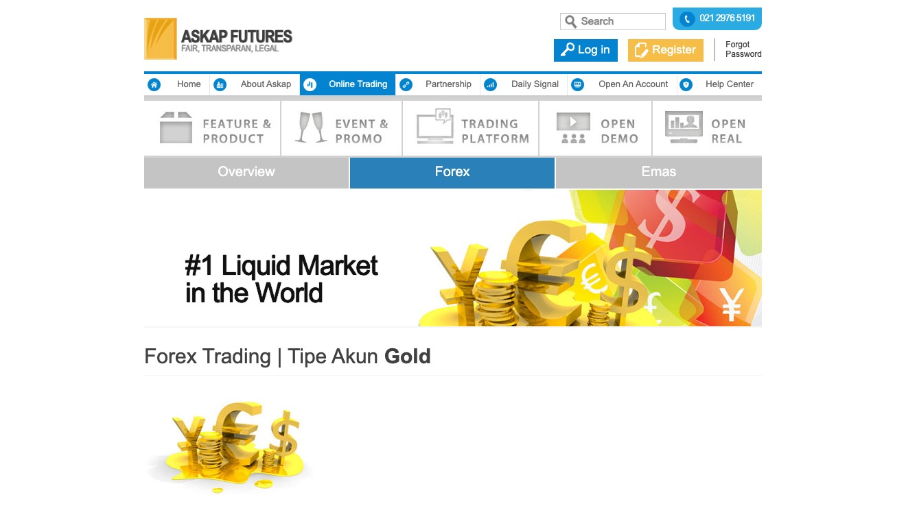 Askap Futures Forex GOLD