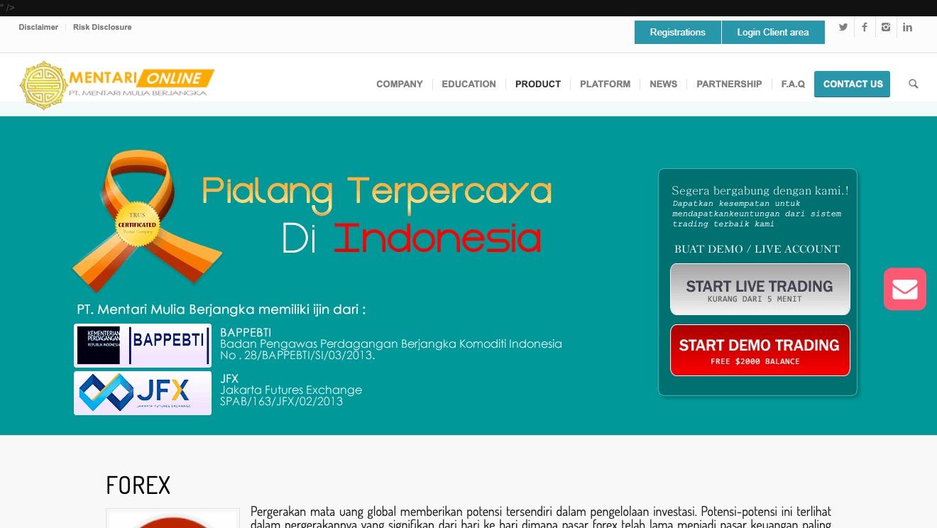 Mentari Mulia Berjangka Forex