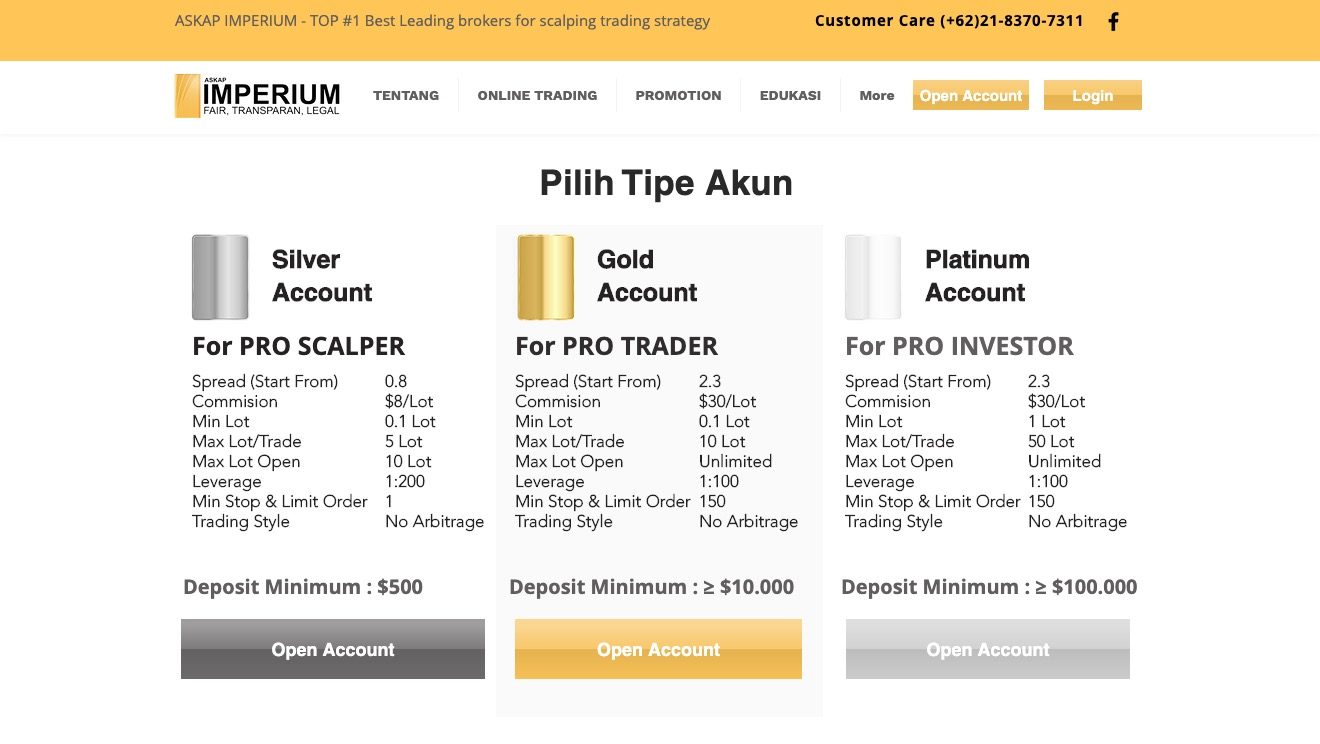 Askap Imperium Silver Account