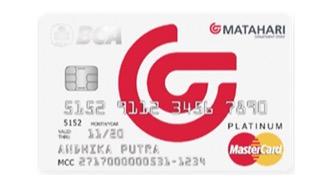 BCA MasterCard Matahari