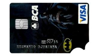 BCA VISA Batman