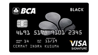 BCA VISA Black