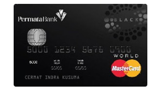 Permata Black World MasterCard