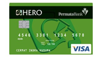 Permata Hero Visa Classic Permata Bank Moneyduck Indonesia