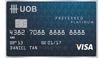 UOB Preferred VISA Platinum