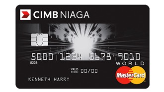 CIMB Niaga World MasterCard