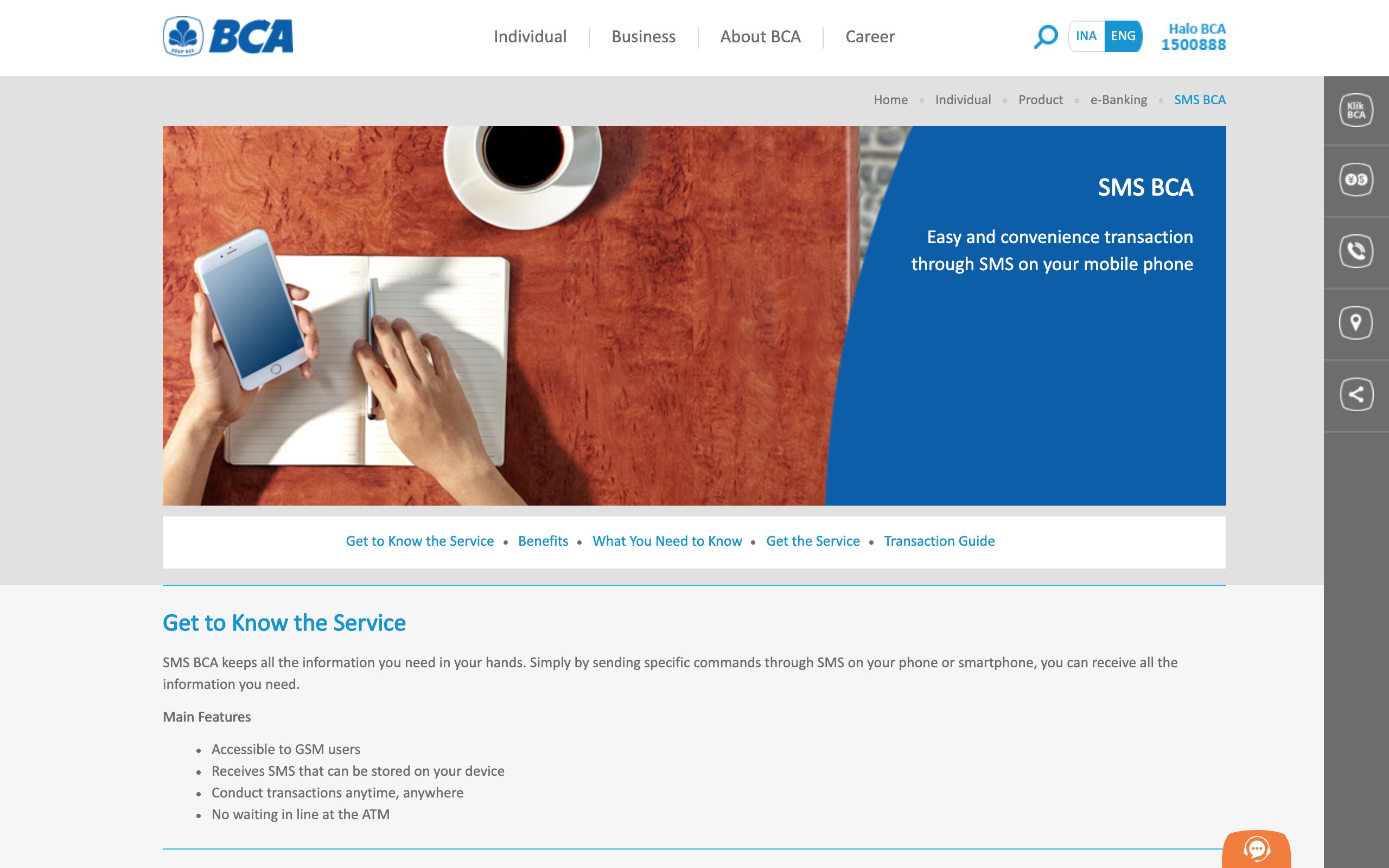 Inilah Cara Daftar SMS Banking BCA Mudah Dan Aman
