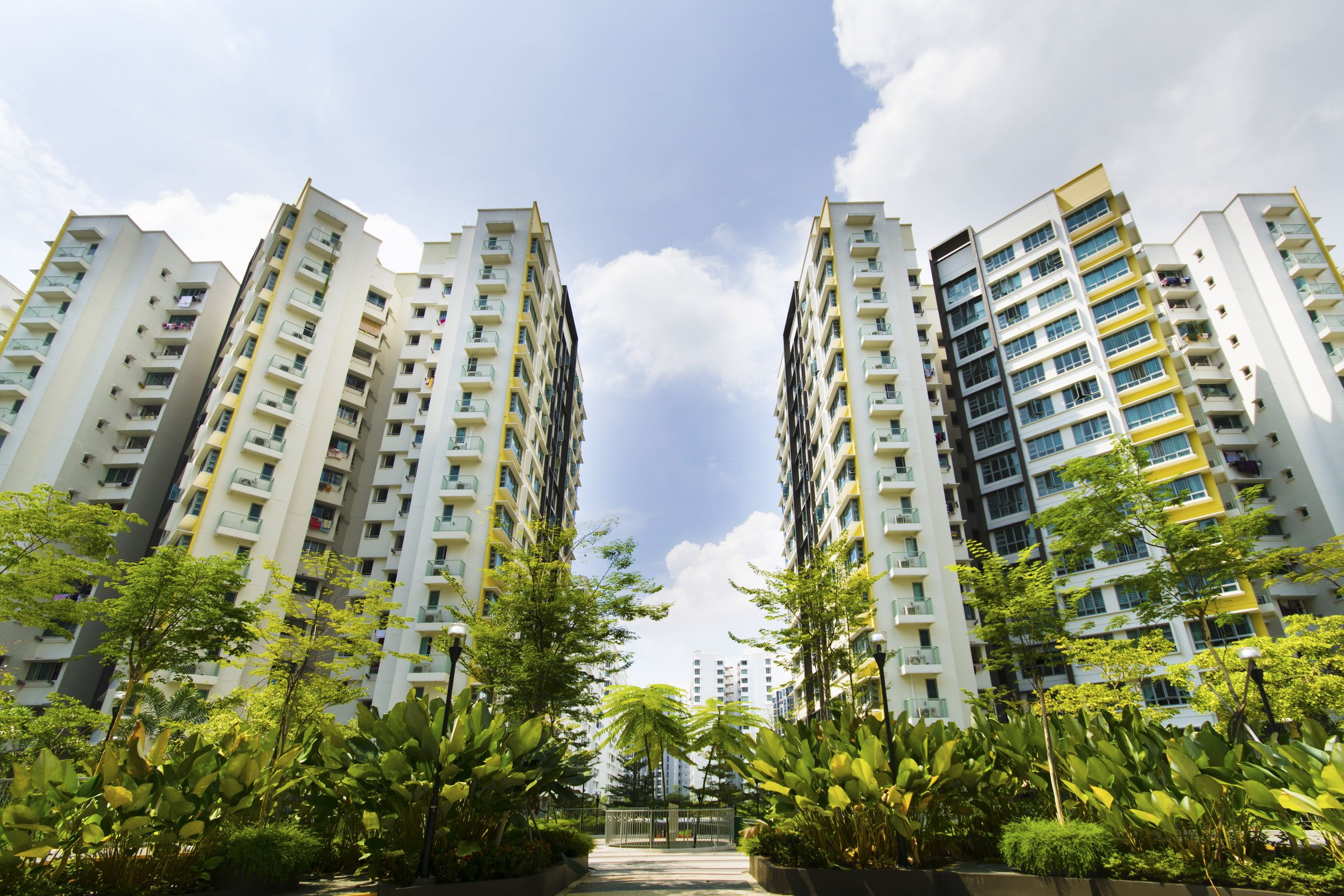 Stock Photo - New Singapore government appartments