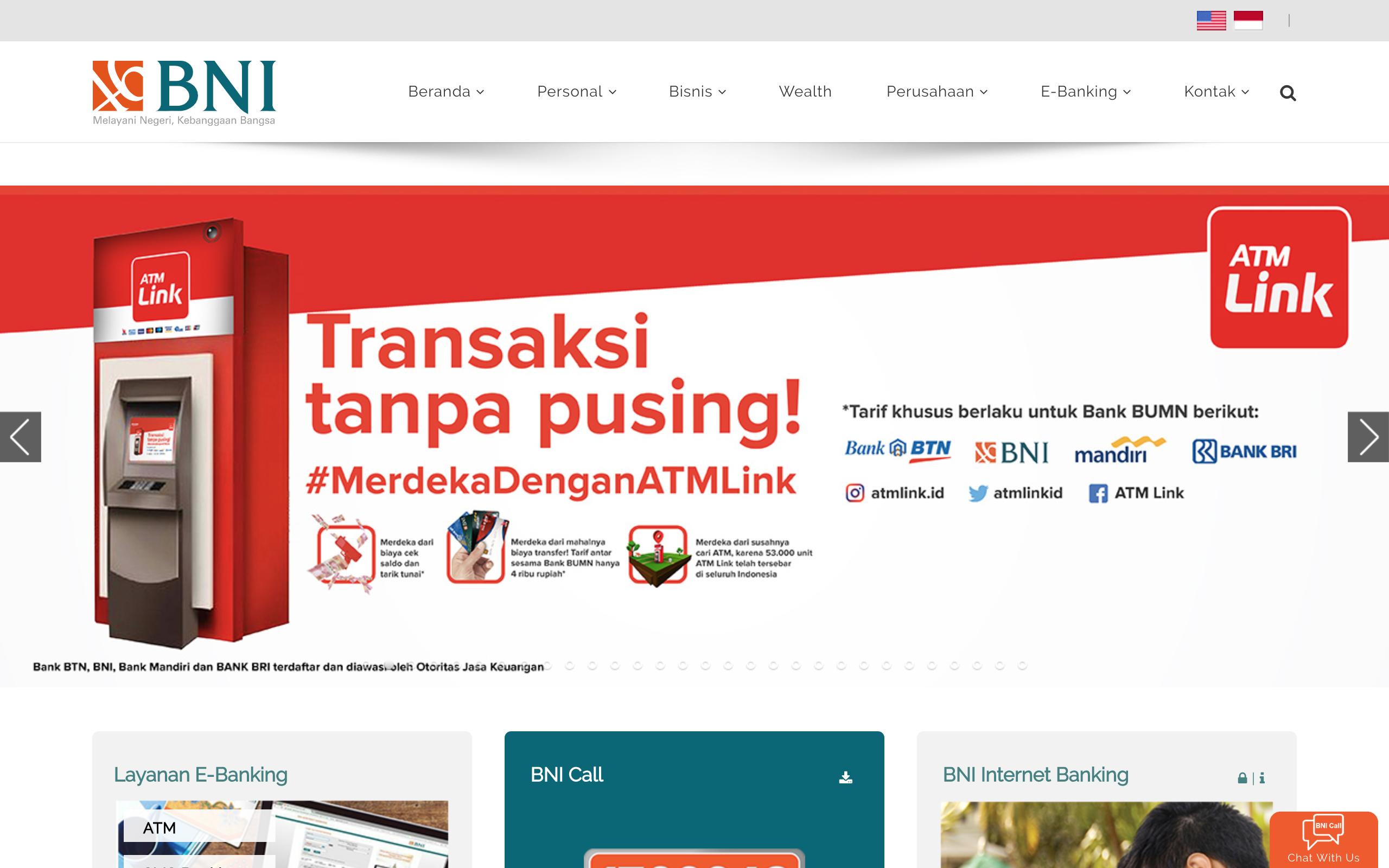 Cara Daftar BNI Internet Banking Dan Aktivasi Melalui ATM Dan Online