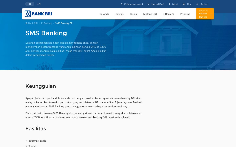 Belum Tahu Bagaimana Cara Daftar SMS Banking BRI? Yuk, Simak Caranya!