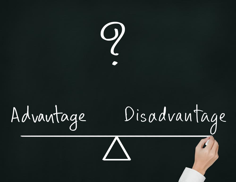 advantages disadvantages debit cards
