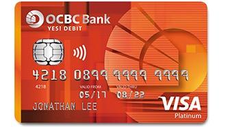 OCBC YES! Debit Card