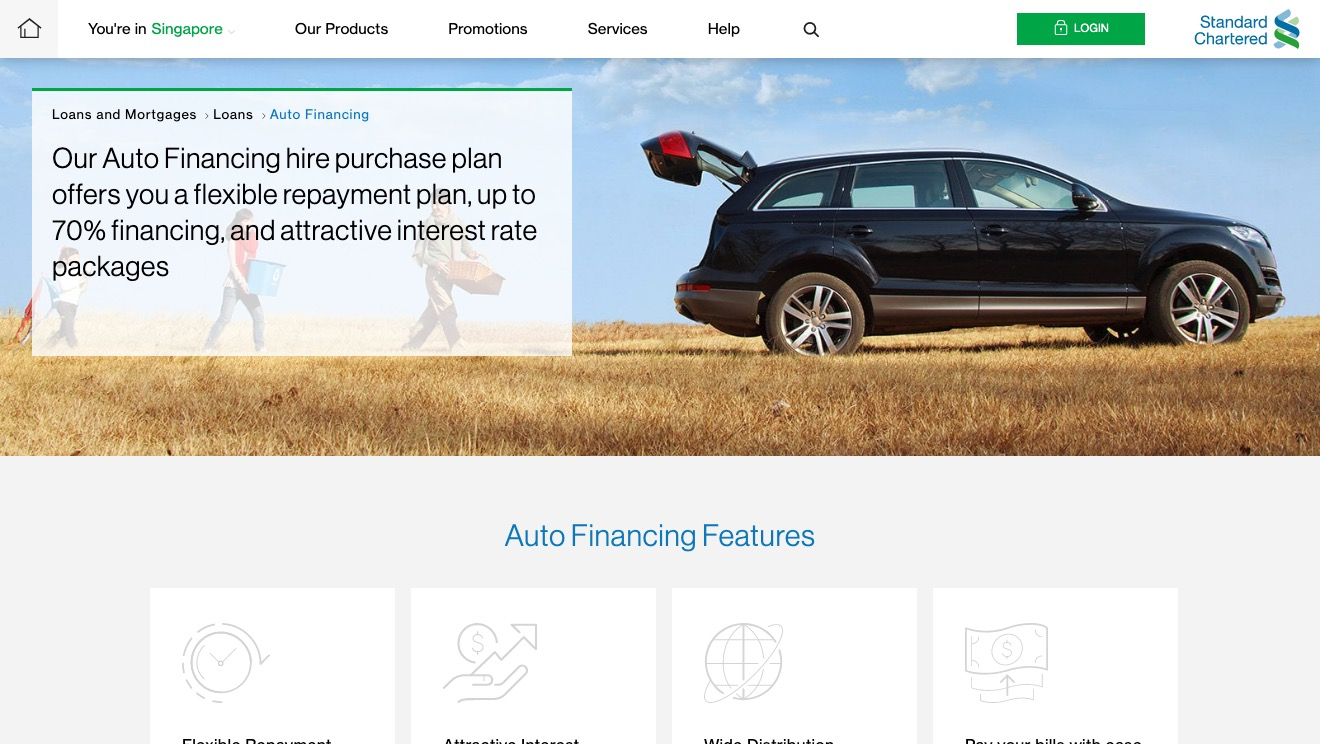 Standard Chartered Auto Financing