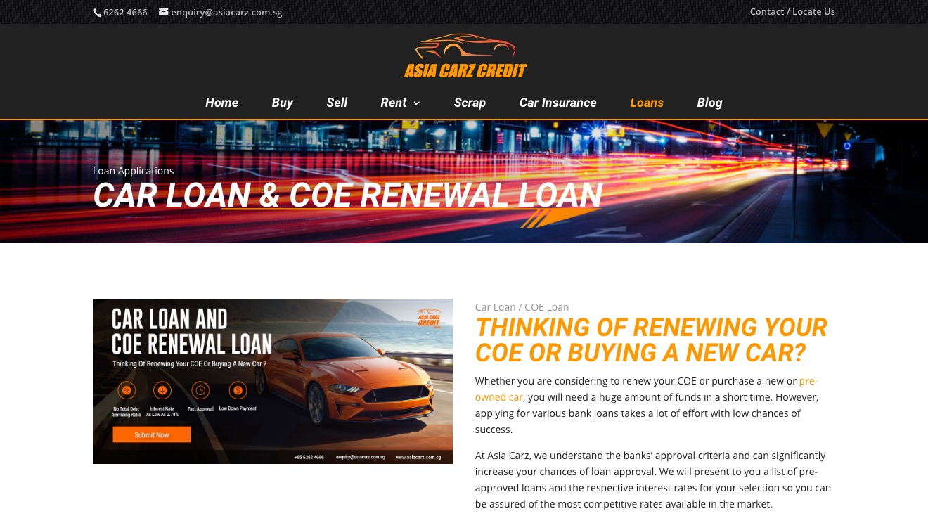 Asia Carz Credit Car Loan