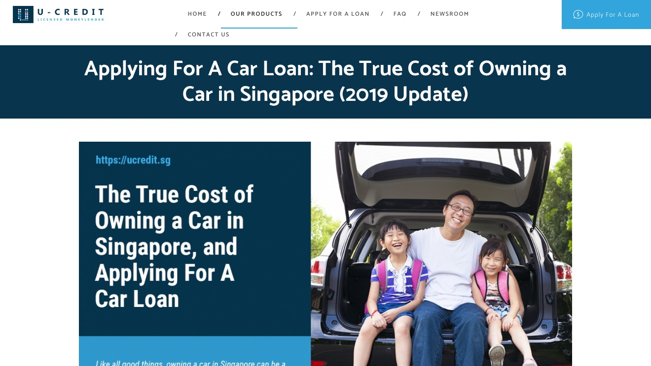 U Credit Car Loan