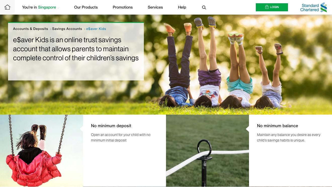 Standard Chartered e$aver Kids