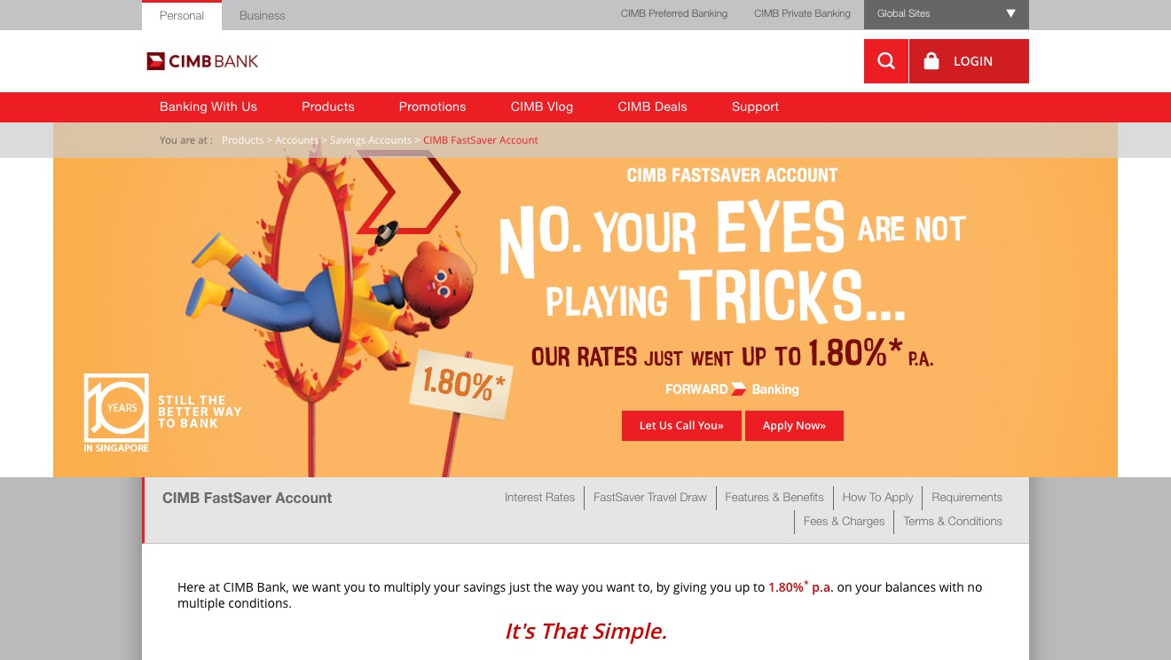 CIMB FastSaver Account