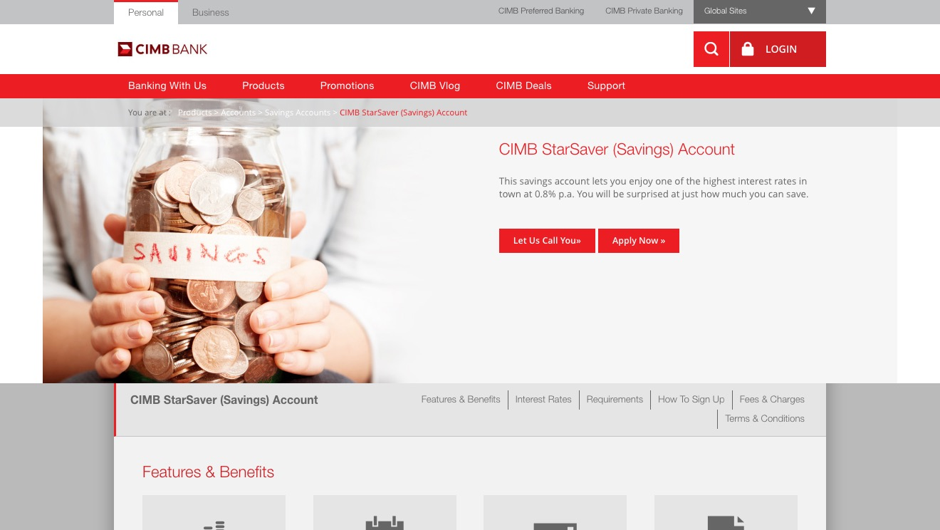 CIMB StarSaver (Savings) Account
