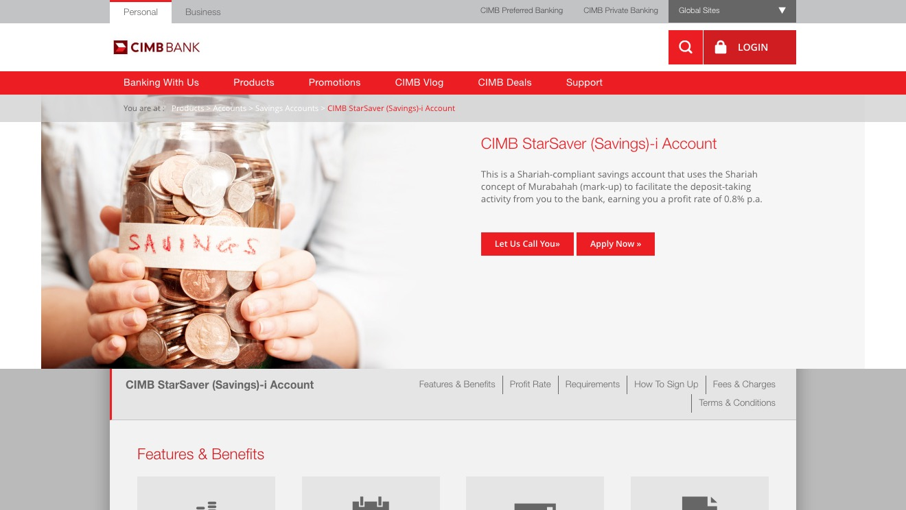 CIMB StarSaver (Savings)-i Account