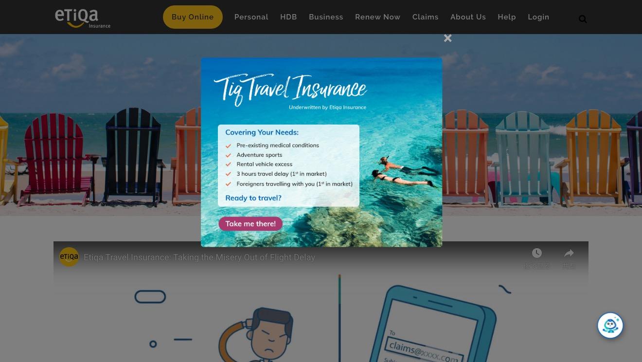Etiqu ePROTECT travel Basic Plan