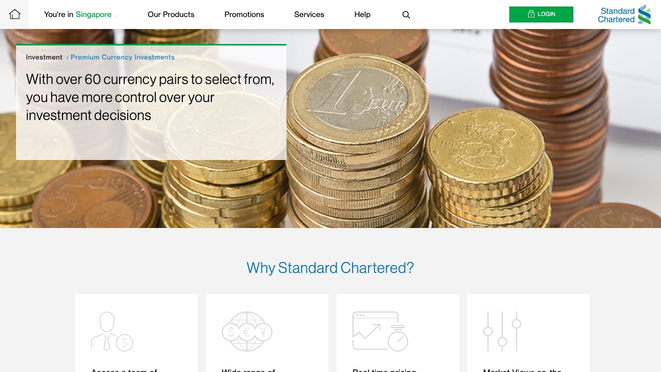 Standard Chartered Premium Currency Investments
