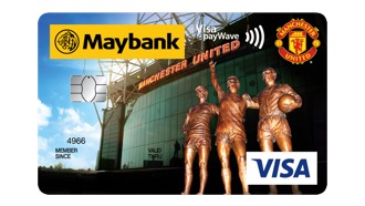 Maybank Manchester United Platinum VISA Card