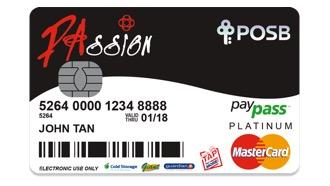 PAssion POSB Debit Card