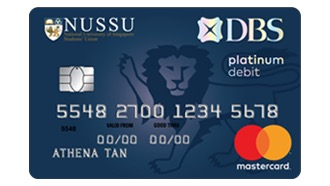 DBS NUSSU Debit Card