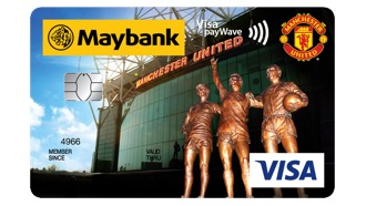 Maybank Manchester United Platinum Visa Debit Card