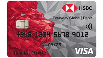 HSBC Everyday Global Debit Card