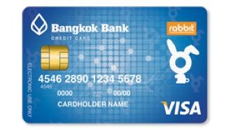 บัตรเครดิตธนาคารกรุงเทพ แรบบิท