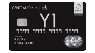 บัตรเครดิตเซ็นทรัล เดอะวัน เดอะแบล็ค
