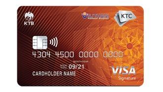 บัตรเครดิต เคทีซี โรงพยาบาลเวชธานี วีซ่า ซิกเนเจอร์