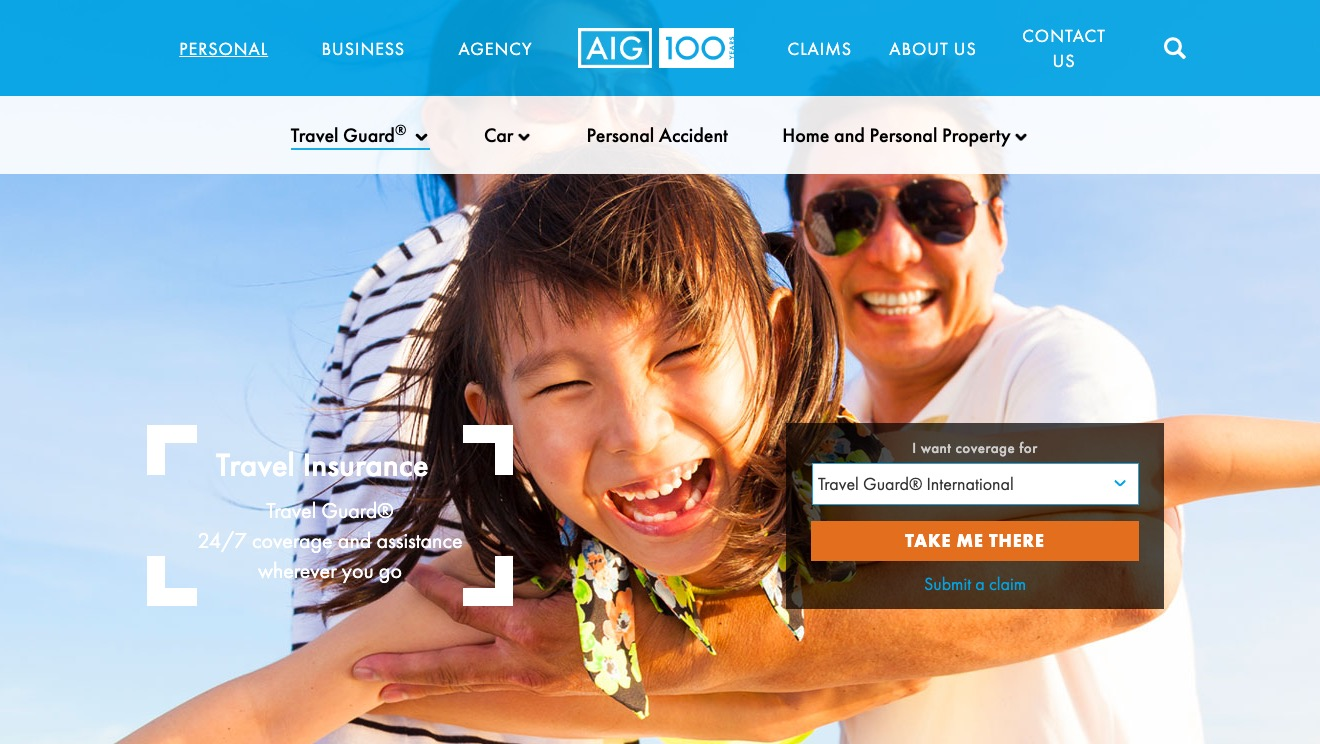 Travel Guard International Plan B By AIG
